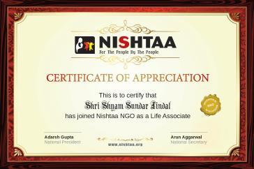 Shyam Sundar Jindal